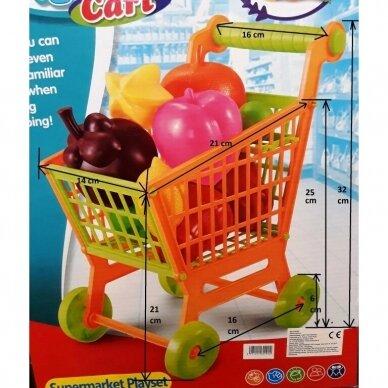 Pirkinių vežimėlis su vaisiais 3