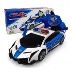 Policijos automobilis su 3D žibintais ir 3D garsu