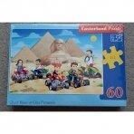 """Puzzle """"Piramidės"""", 60 dalių"""