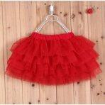 Raudonas tutu sijonas