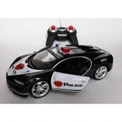 Radijo bangomis valdomas policijos automobilis 3