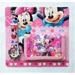 """Rinkinys: laikrodis ir piniginė """"Minnie Mouse"""""""