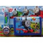 """Rinkinys: laikrodus ir piniginė """"Thomas and Friends"""""""