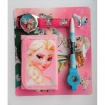 """Rinkinys: rašiklis, laikrodis ir piniginė """"Frozen"""""""