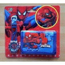 """Rinkinys: laikrodis ir piniginė """"Žmogus voras"""""""