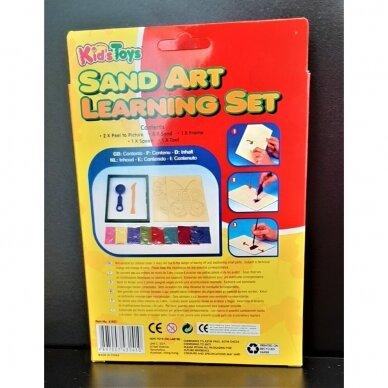 Rinkinys piešimui spalvotu smėliu 2