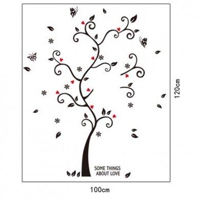 """Sienų lipdukas """"Nuotraukų medis"""""""