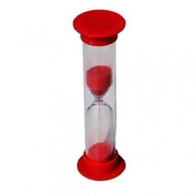 Smėlio laikrodis, 3 min.