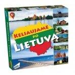 Stalo žaidimas Keliaujame po Lietuvą