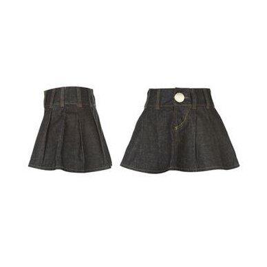 Stilingas džinsinis sijonas