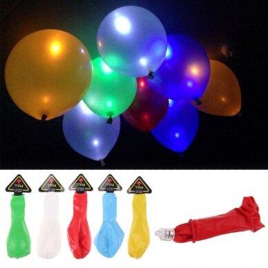 Šviečiantys LED balionai