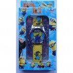Vaikiškas laikrodis Pimpačkiukas su dėžute