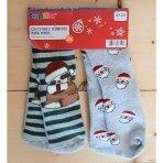 Vaikiškos frotinės kojinės neslystančiu paduku, 2 poros