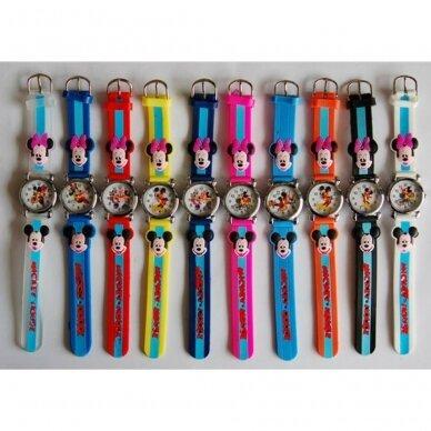 Vaikiški laikrodukai Mickey Mouse