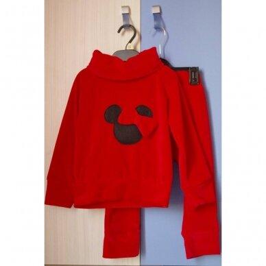 """Veliūrinis 2 d. komplektas """"Minnie Mouse"""" raudonas"""