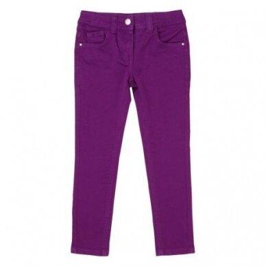 Violetiniai skinny džinsai
