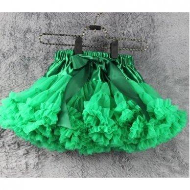 Žalias Tutu pettiskirt sijonas