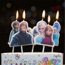 """Žvakutės tortui """"Frozen"""""""